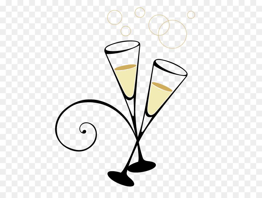 Island cocktail martini . Champagne clipart cartoon