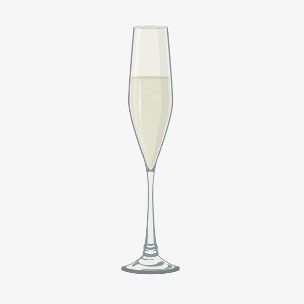 Champagne clipart cartoon. Glass of png image
