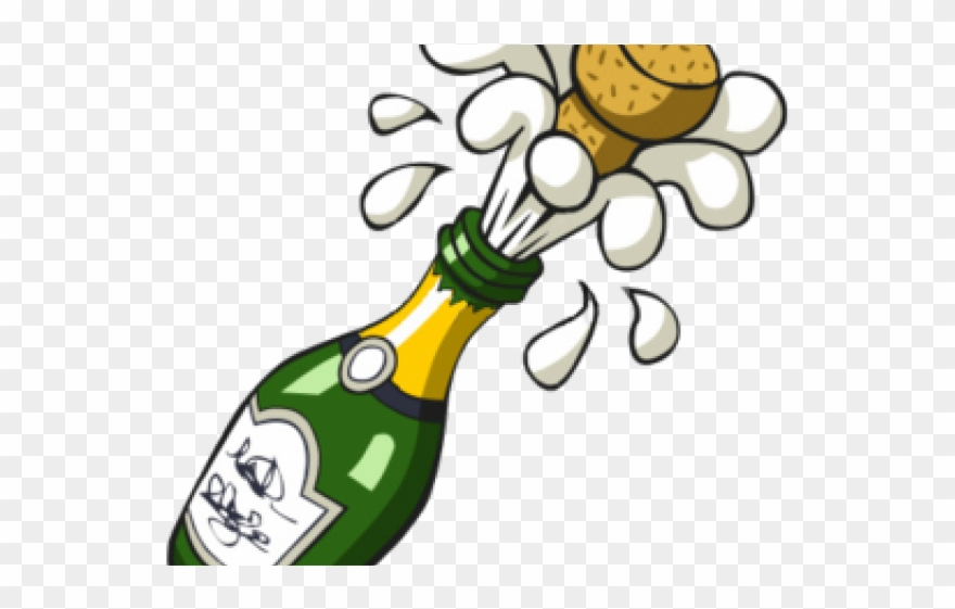 Champagne clipart cartoon. Bottle png