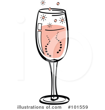 Champaign clipart cartoon. Champagne illustration by andy