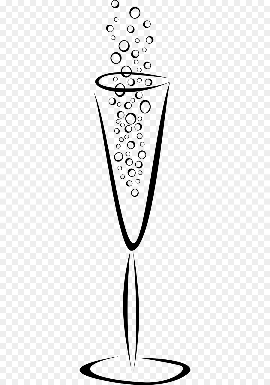 Bubble drawing glass . Champagne clipart cartoon