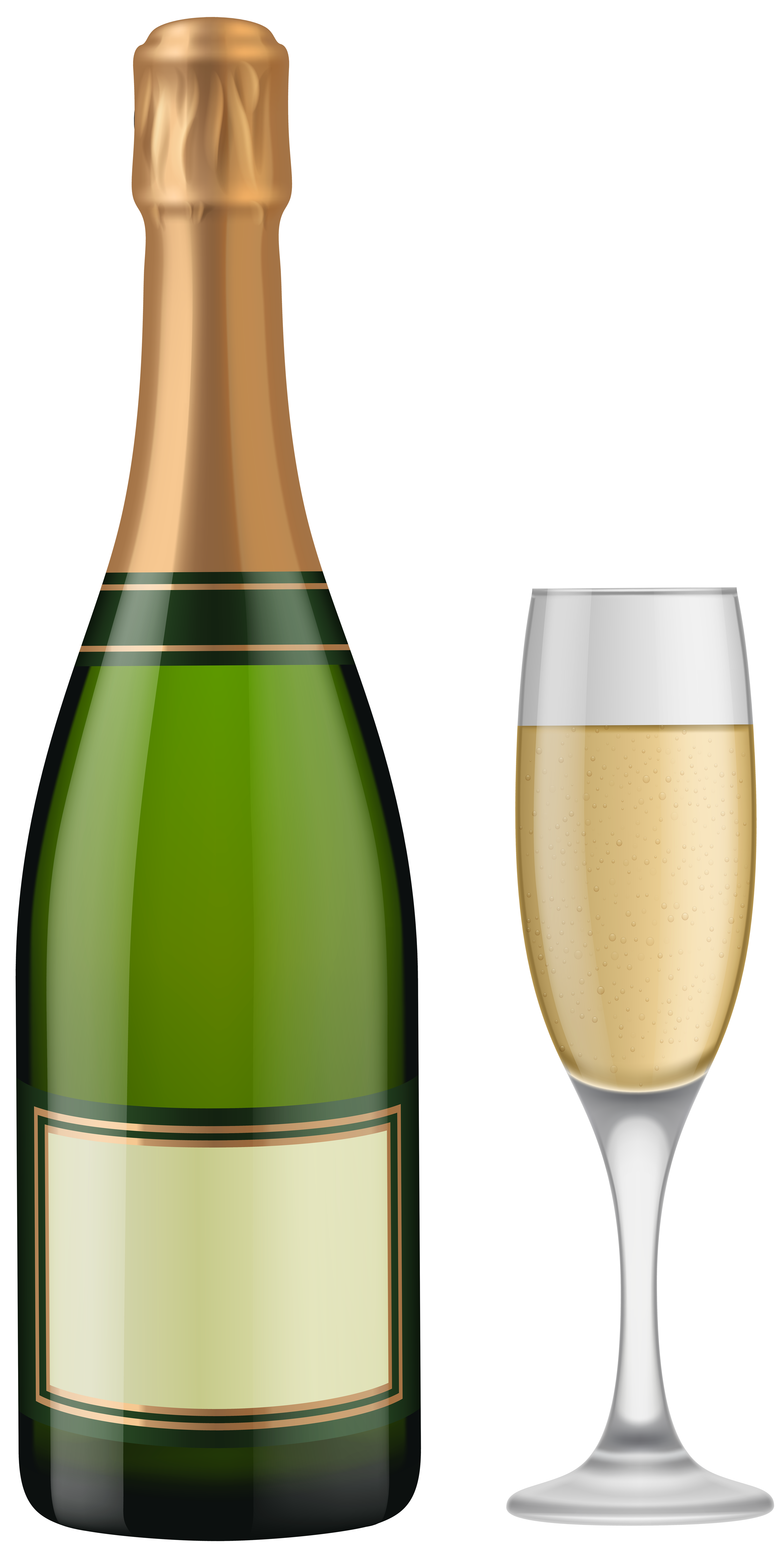 And glass clip art. Champagne bottle png