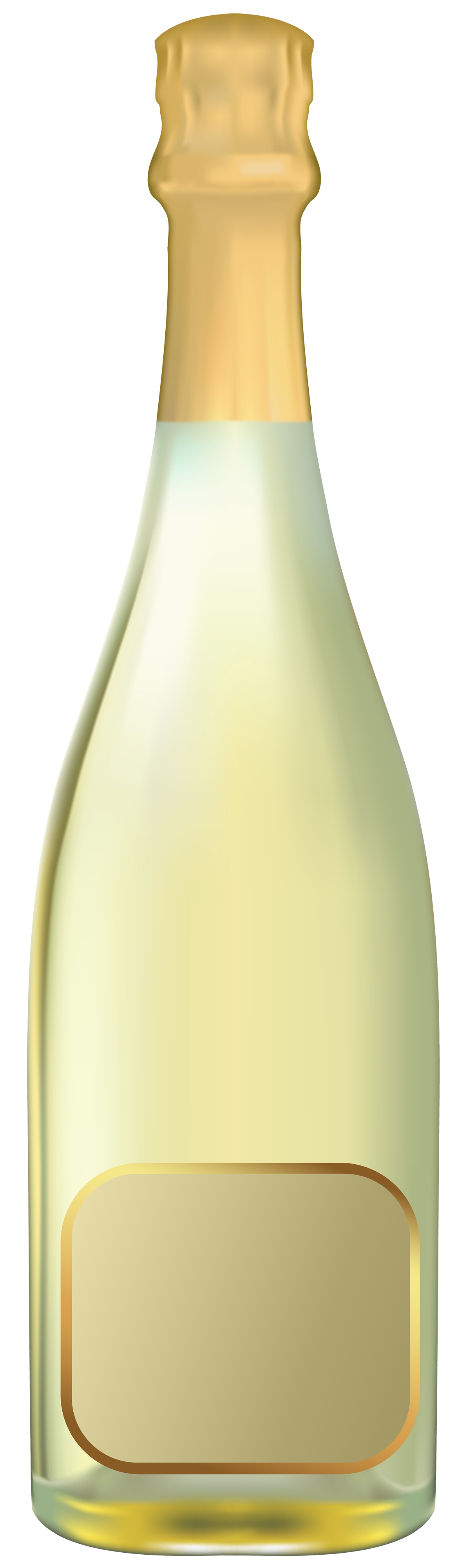 Champagne clipart best web. White wine bottle png
