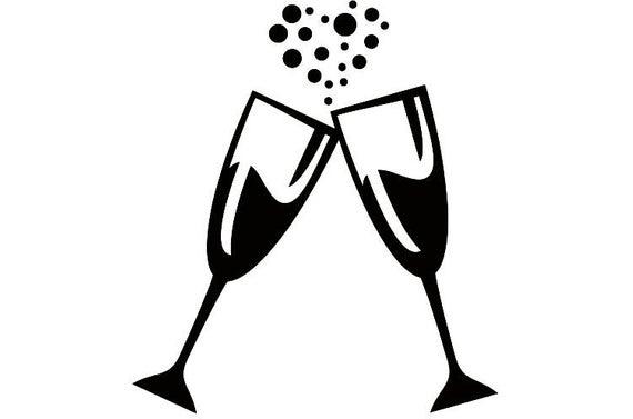 Glasses celebration celebrate party. Champagne clipart champagne bubble