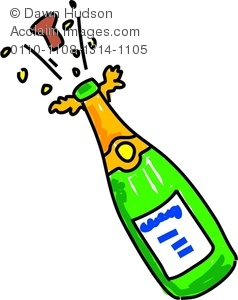 Champagne clipart champagne cork. Image of a whimsical