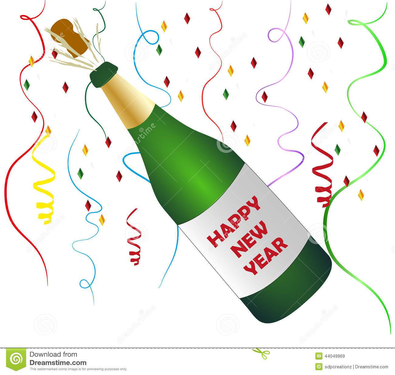 Champagne clipart champagne cork. Bottle new year clip