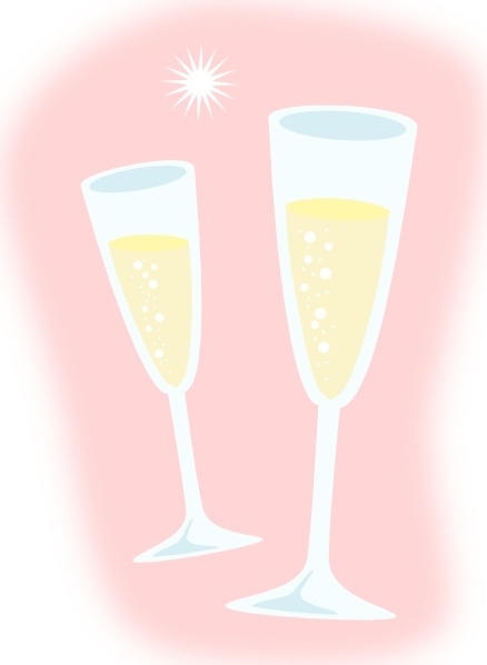 Glasses clip art free. Champagne clipart champagne glass
