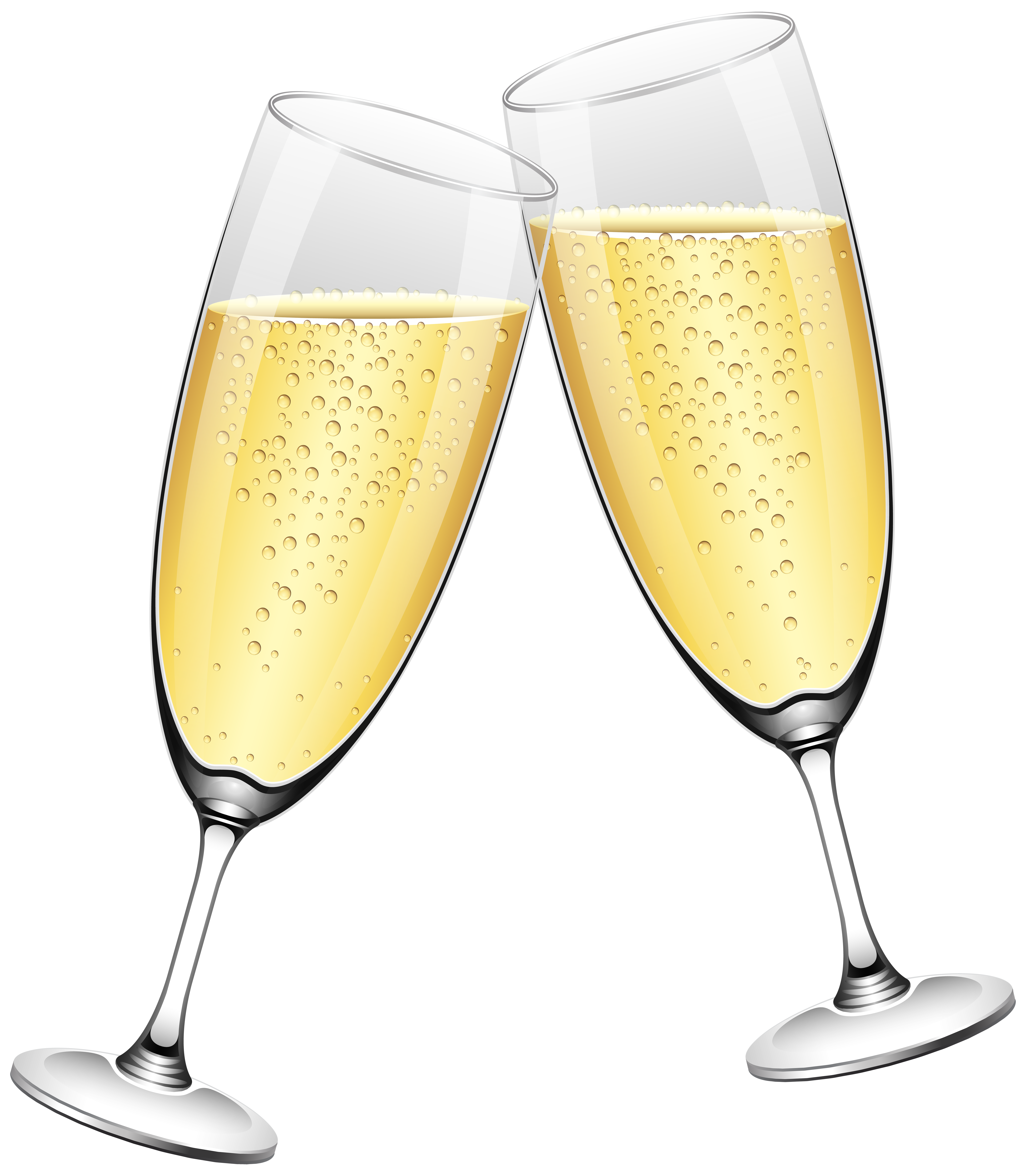 Champaign clipart wedding. Champagne glasses png clip