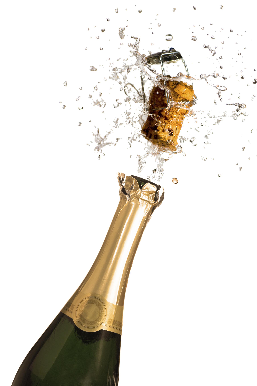 Champagne png images bottle. Glasses clipart pop