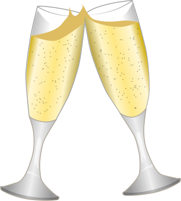 champagne clipart champagne toast