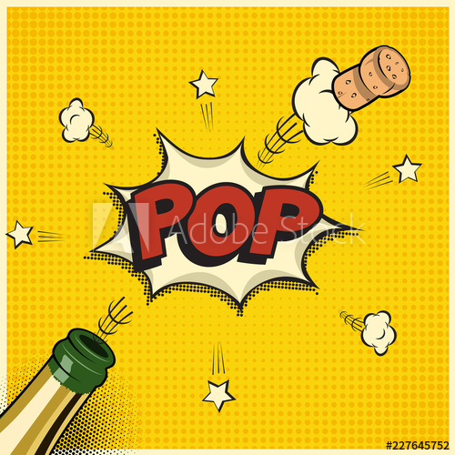 Champagne clipart champagne word. Vector holiday element in