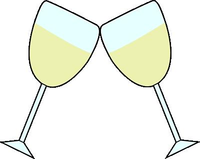 Champagne glasses clip art. Champaign clipart toasting glass
