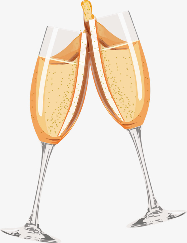 Champaign clipart cheer. Cheers champagne golden png