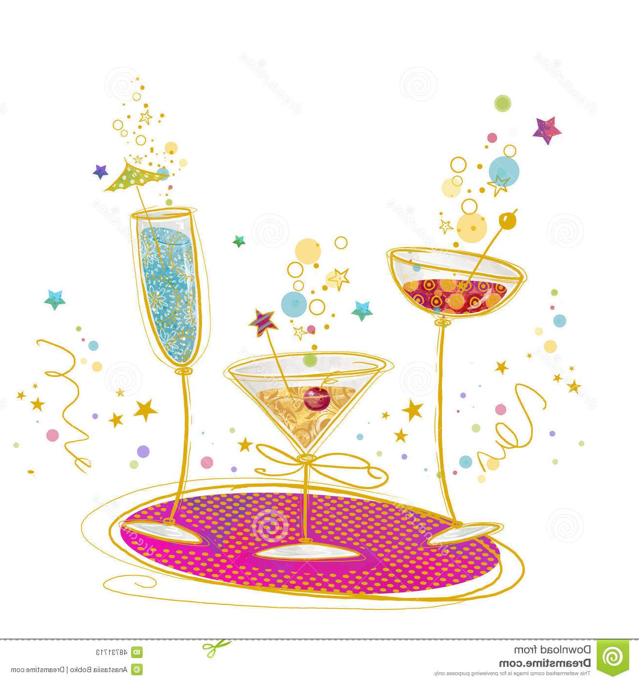 Champaign clipart cheer. Unique cheers cocktails clip