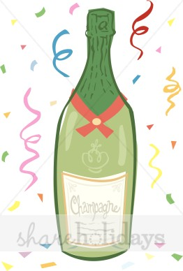 Champaign clipart christmas. Festive champagne food