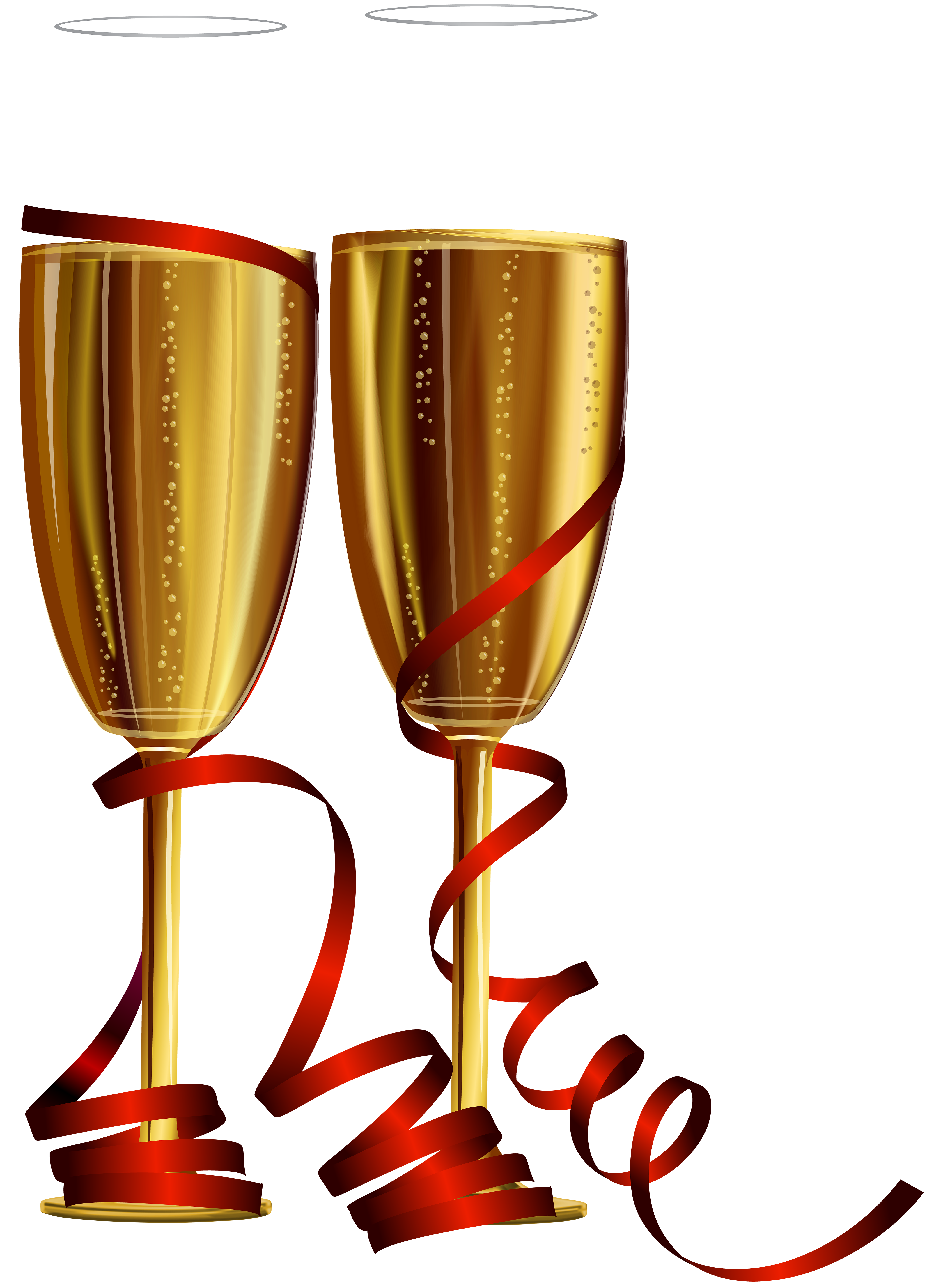 Anniversary clipart champagne glass. New year glasses png