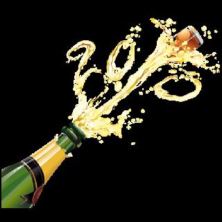 Champagne clipart clear background. Bottle transparent clip art