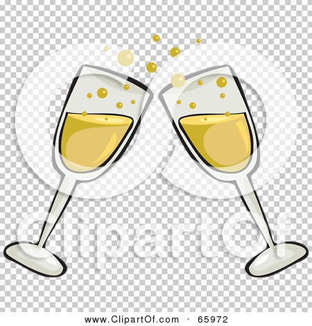 collection of glasses. Champagne clipart clear background