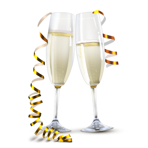 collection of transparent. Champagne clipart clear background