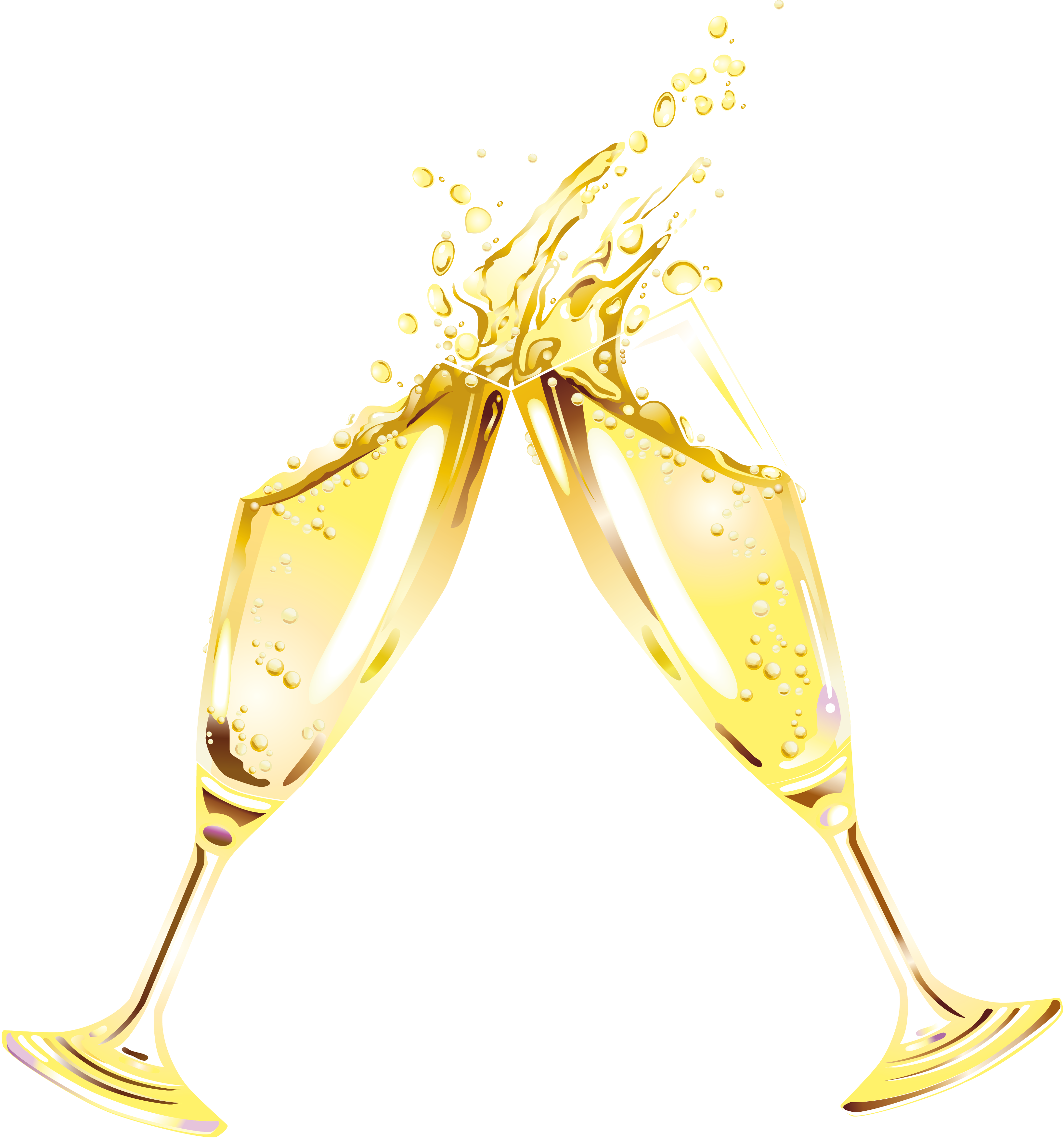 Champagne clipart clear background. Glass png