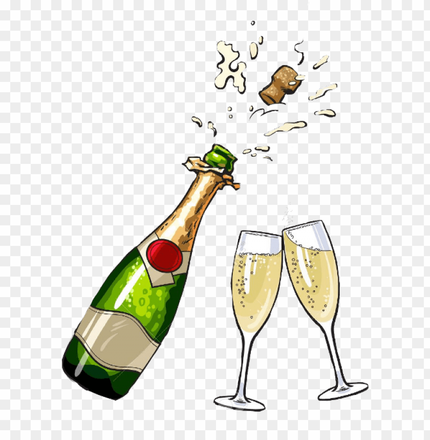 Bottle png image with. Champagne clipart clear background