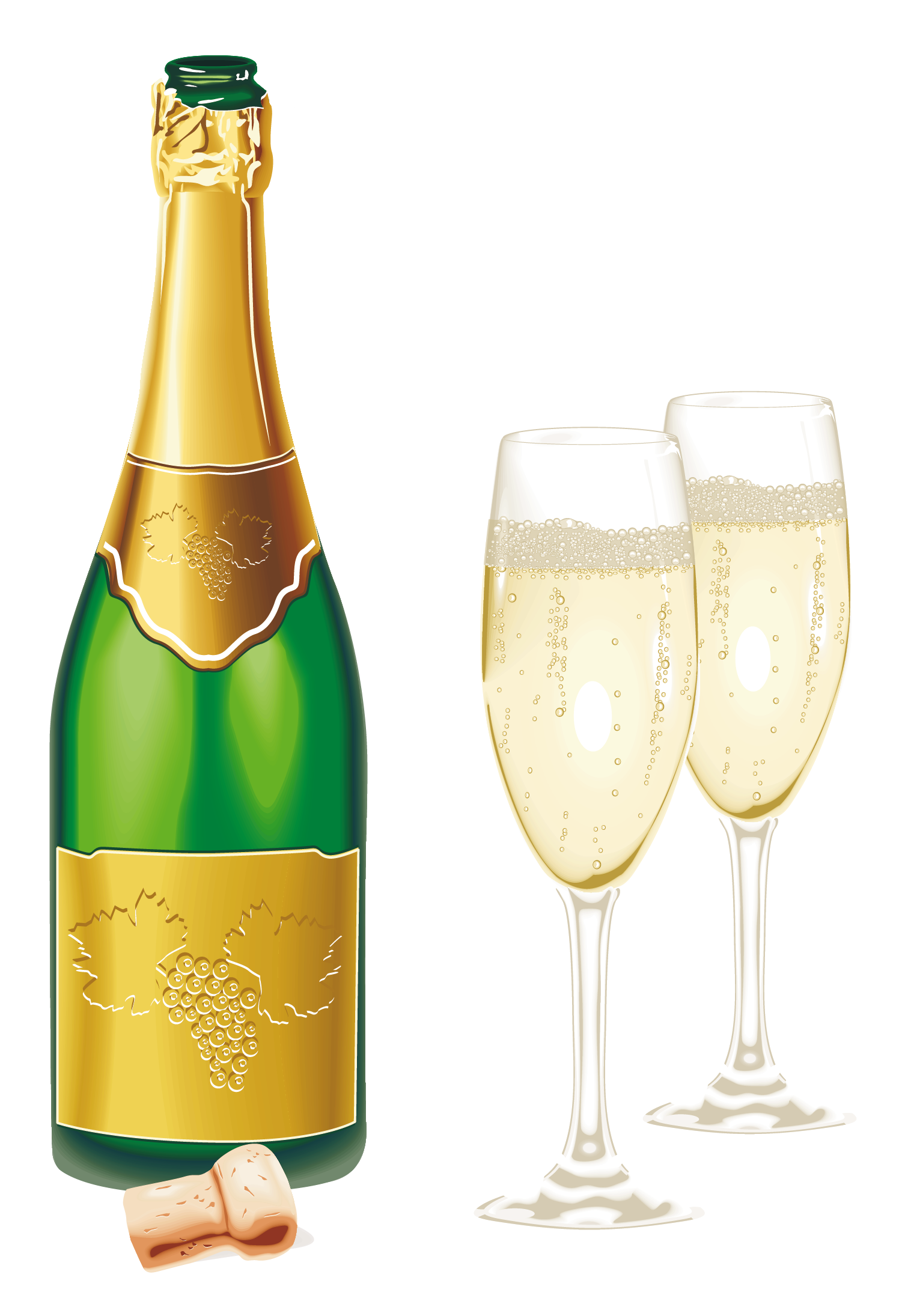 Champagne clipart file. Png web icons transparent