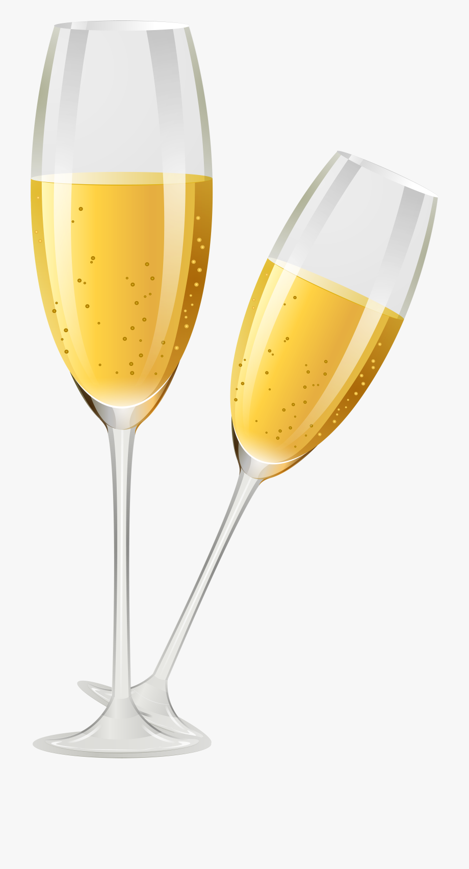 Champagne clipart file. Banner black and white