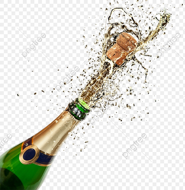 Drinks bottle png . Champagne clipart file