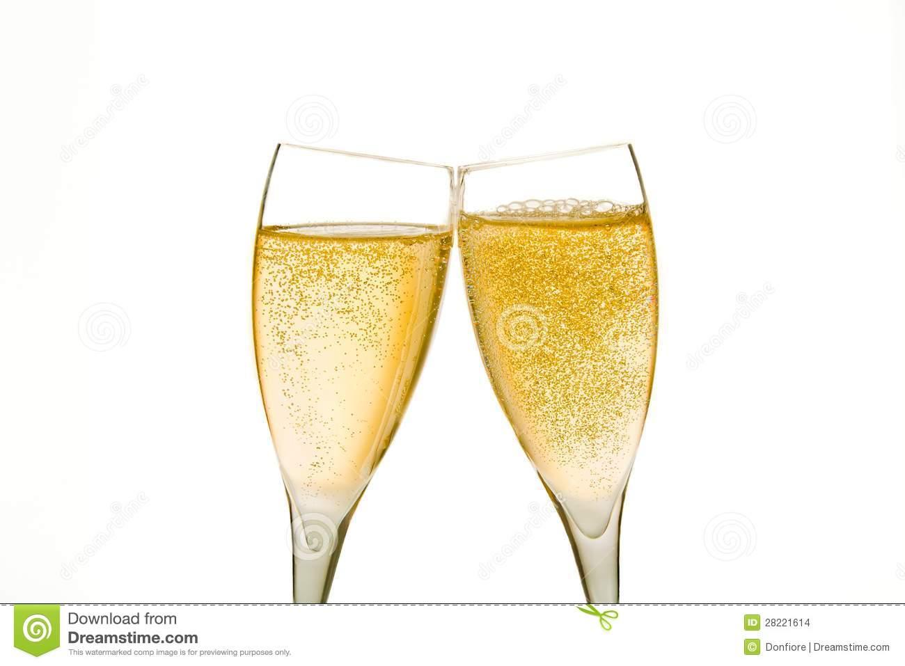 Glasses . Champagne clipart gold champagne