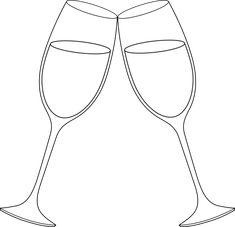 Champagne line