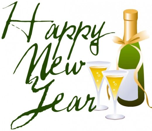 Champagne clipart new years eve. Free clip art hubpages