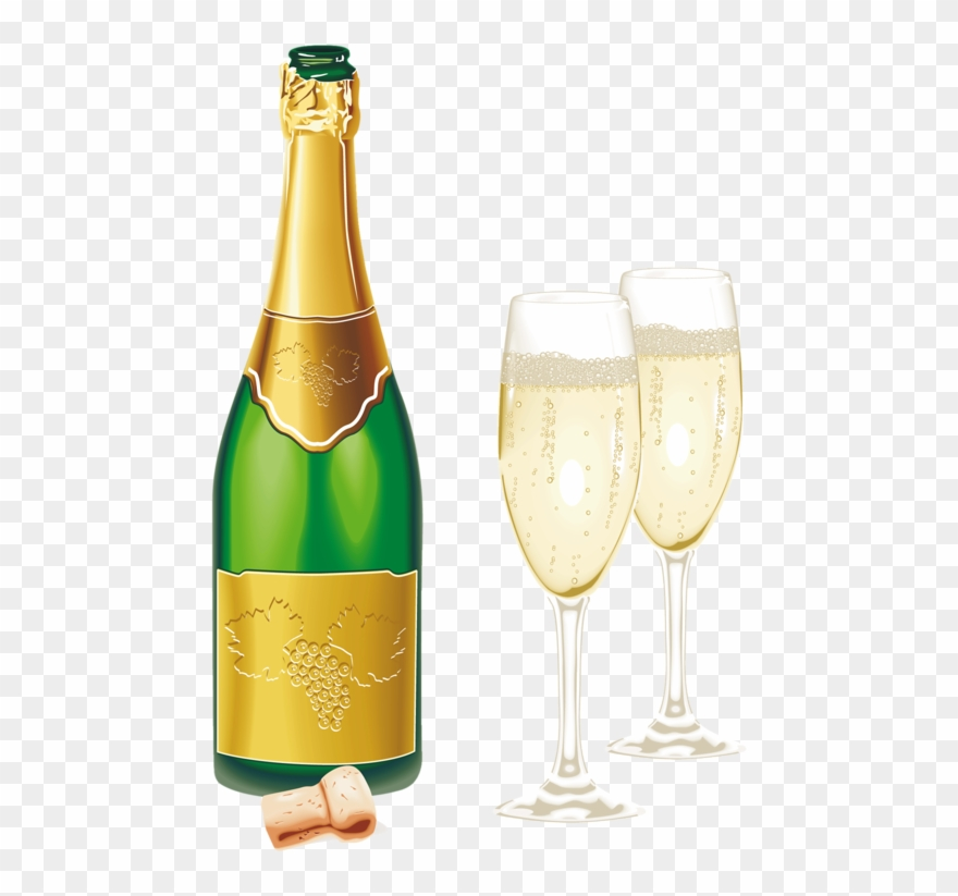 Champaign clipart new years eve.  year champagne png