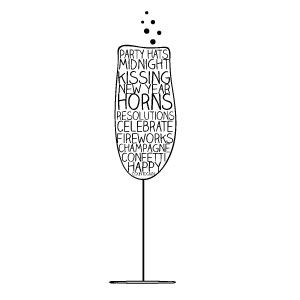 Champaign clipart new years eve. Free a champagne glass