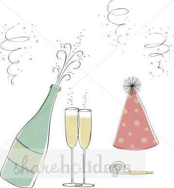 Champagne clipart new years eve. Year s