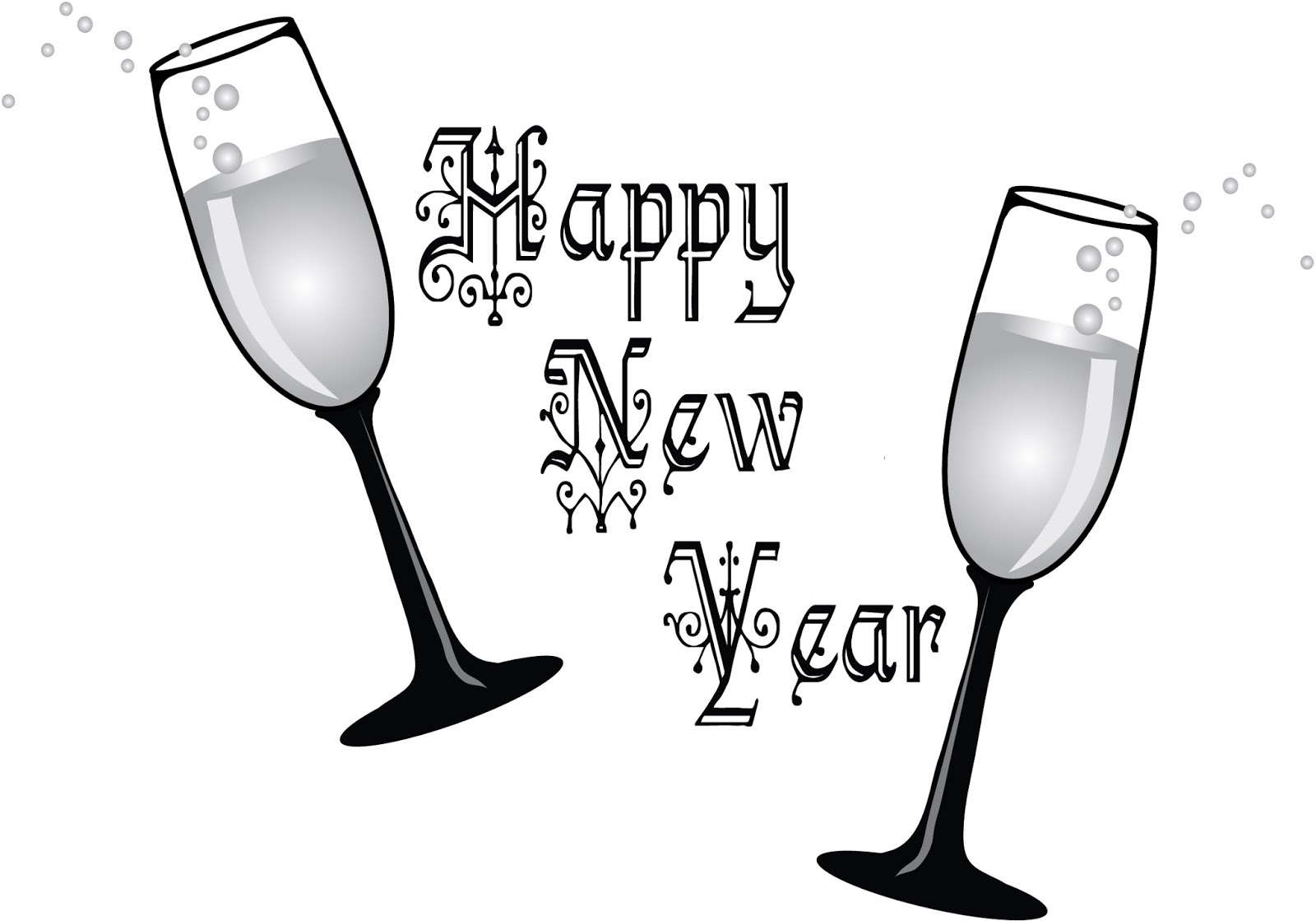Champagne clipart new years eve. The passionate foodie year