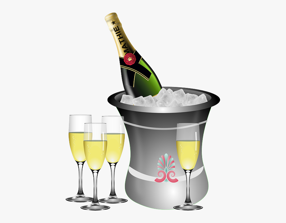 A champagne free cliparts. Champaign clipart new years eve