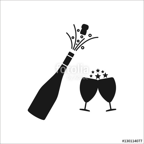 Explosion at getdrawings com. Champagne clipart silhouette