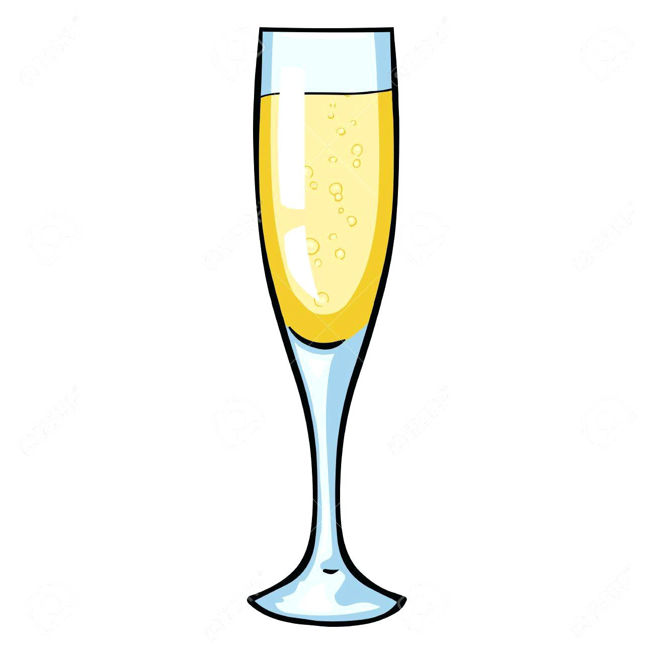 Champagne clipart silhouette. Glasses at getdrawings com