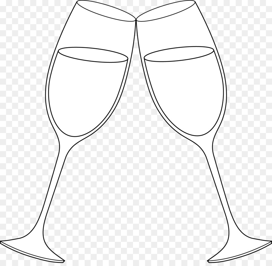 Wine glasses white champagne. Champaign clipart toasting glass
