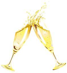 Champagne flutes clip art. Champaign clipart transparent background