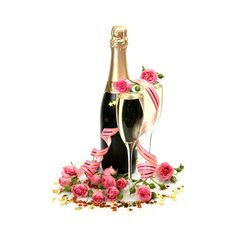 Champagne clipart wedding. Pin by f on