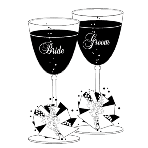 Weddings clip art totally. Champagne clipart wedding drink