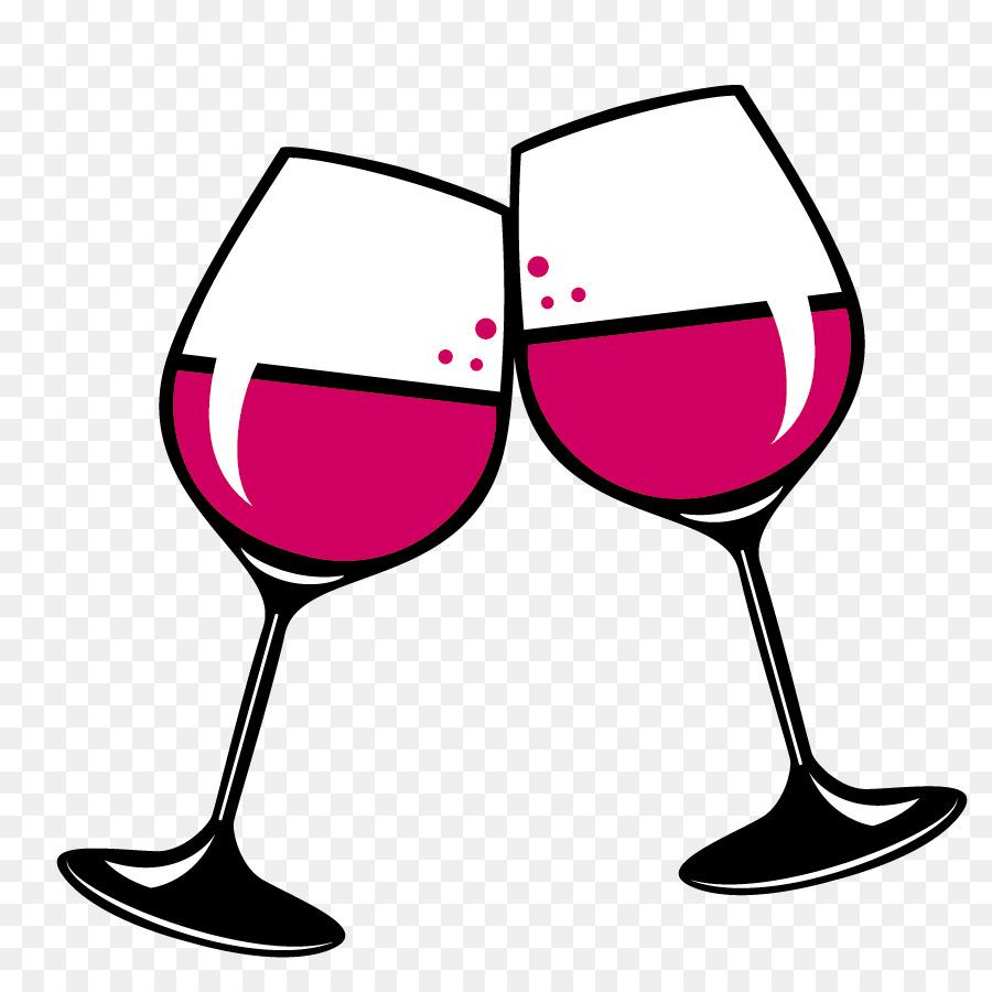 Champaign clipart wine glass. Red white clip art