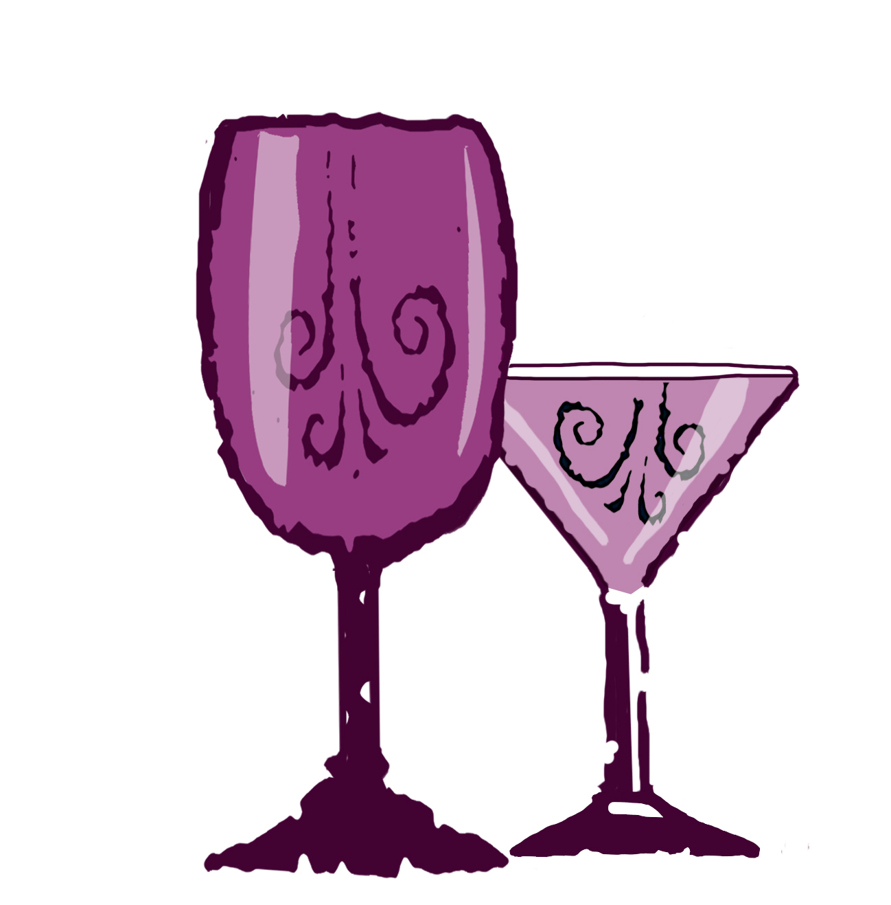 Champaign clipart wine spirit. Wset level award in