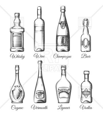 best alcohol and. Champaign clipart wine spirit