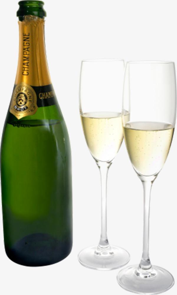 Glasses goblet green bottles. Champagne clipart alcohol