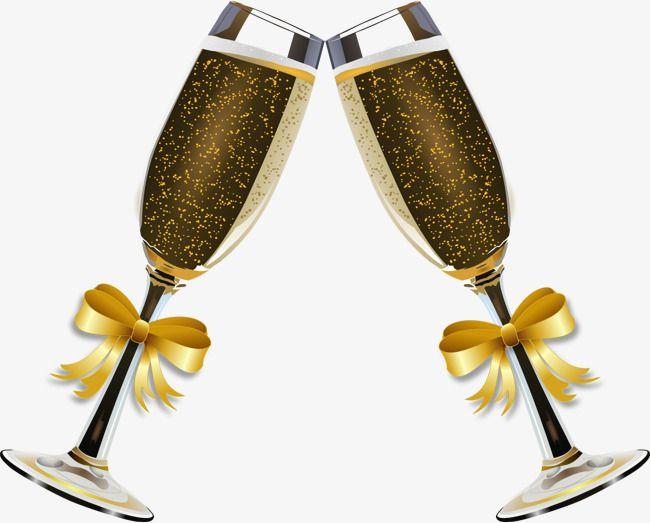 Festival de la mariposa. Champaign clipart birthday champagne
