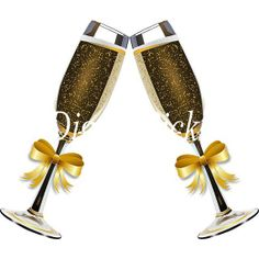 Glasses transparent png clip. Champaign clipart champagne afternoon tea