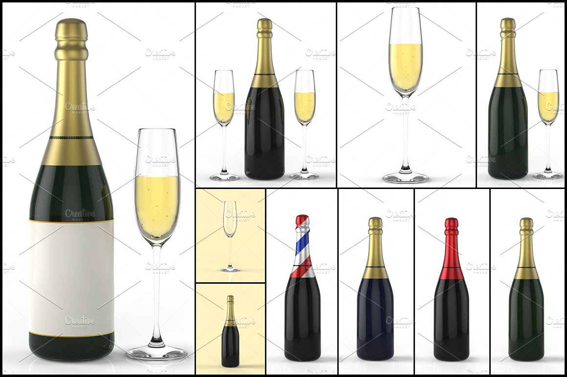 And glass d graphics. Champaign clipart champagne bottle