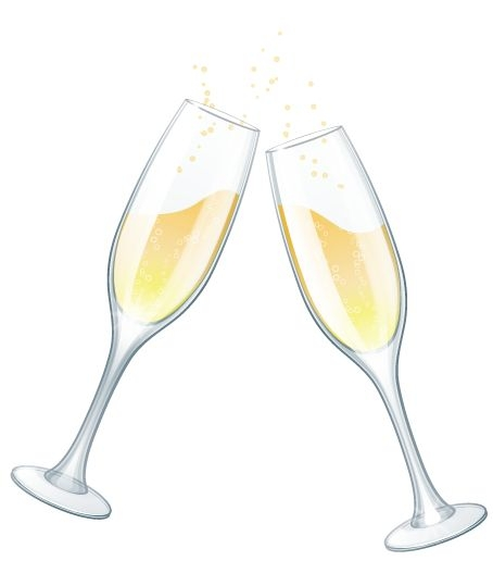 Champaign clipart champagne bottle.  collection of glasses